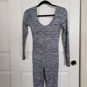 Naked Wardrobe scoop neck jumpsuit